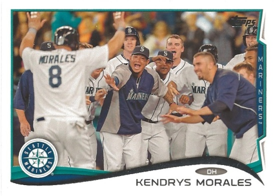 14 TO Kendrys Morales