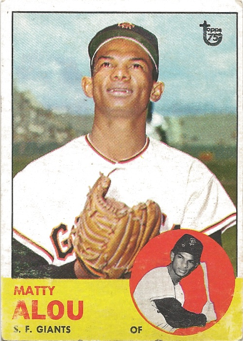 14 TO Matty Alou 1963 Buyback