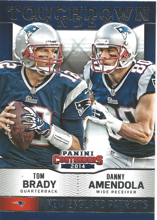 14 PC Tom Brady Danny Amendola