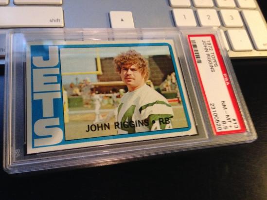 72 TO John Riggins PSA 8.5