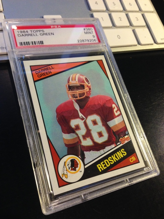 84 TO Darrell Green PSA 9