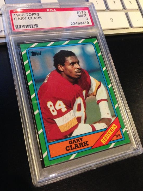 86 TO Gary Clark PSA 9