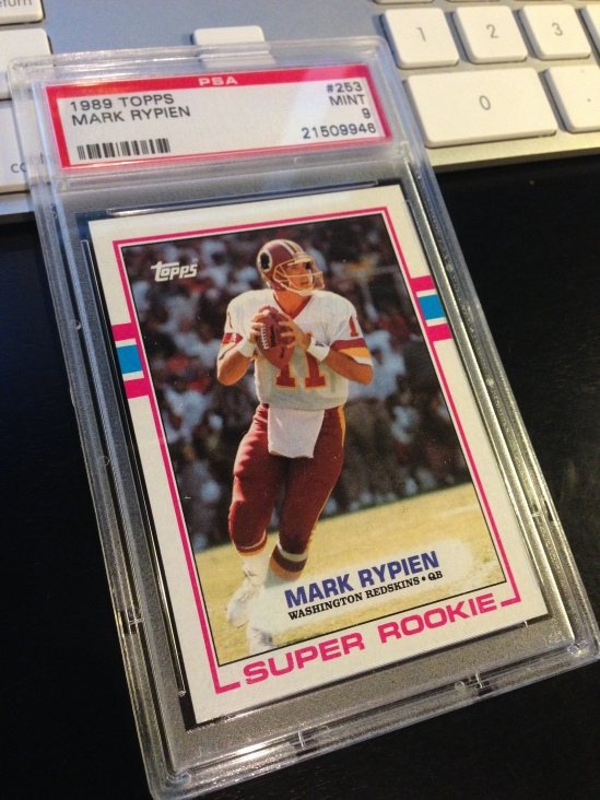 89 TO Mark Rypien PSA 9