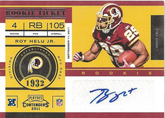 12 PC Roy Helu Auto