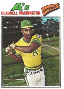 15 T1 Claudell Washington buyback