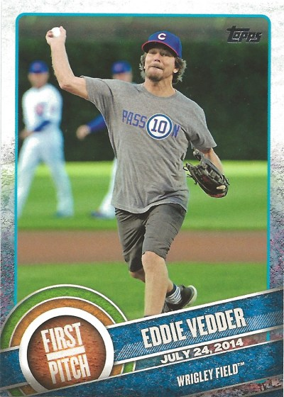 15 T1 Eddie Vedder 1st Pitch
