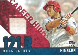 15 T1 Ian Kinsler Career High Jersey