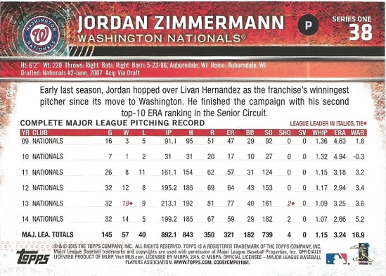 15 T1 Jordan Zimmerman Back