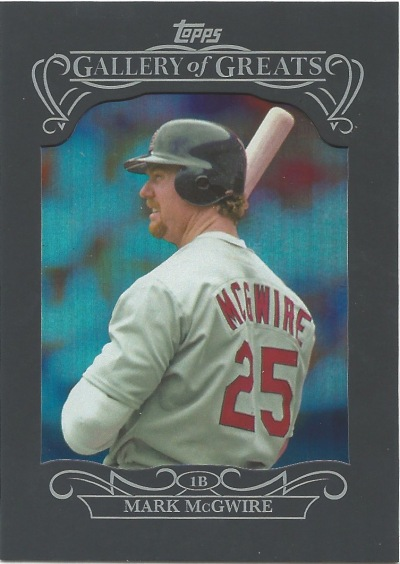 15 T1 Mark McGwire Gallery of Greats