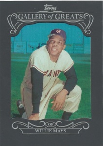 15 T1 Willie Mays Gallery of Greats