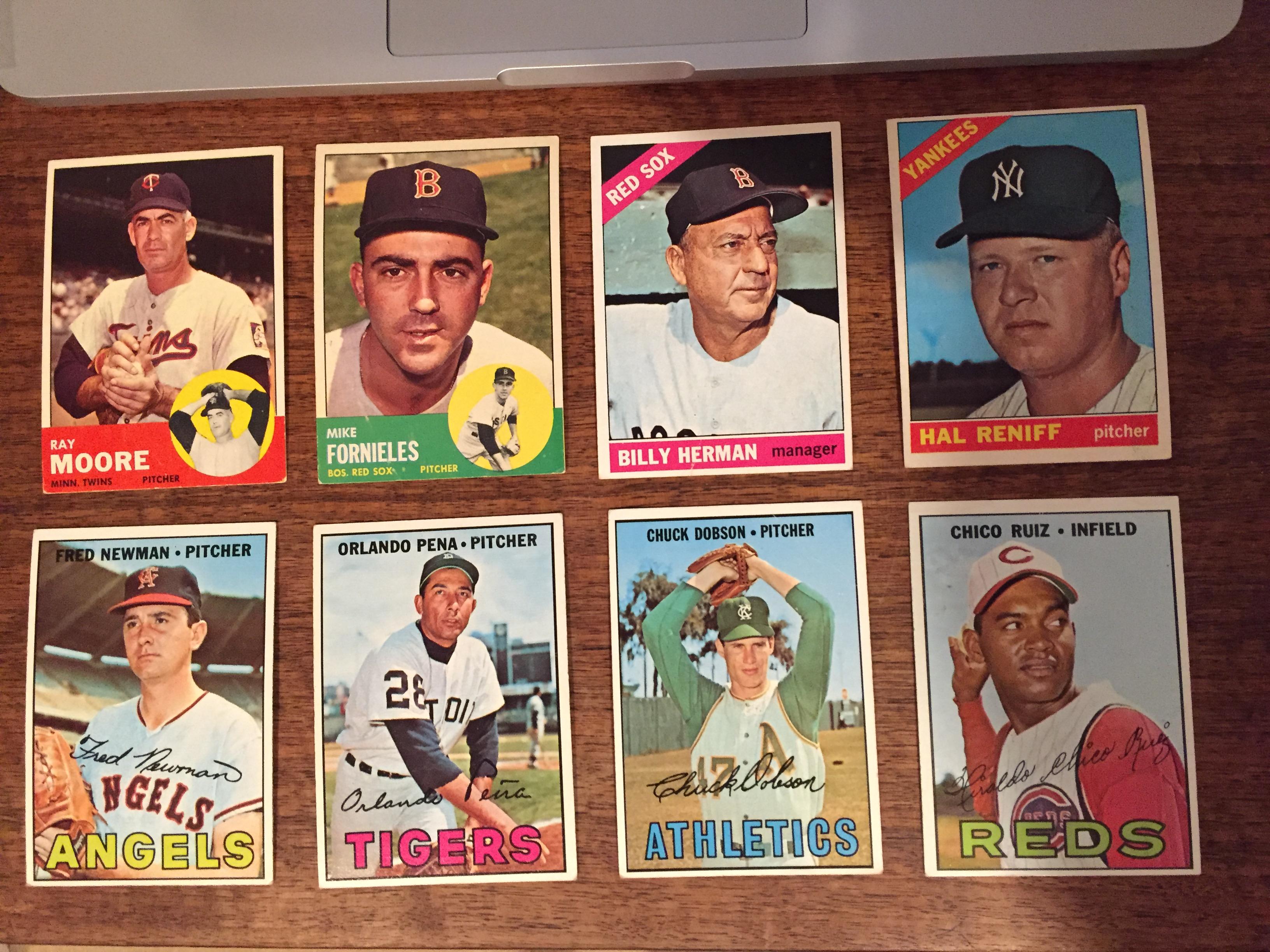 1963 1966 1967 Topps lot
