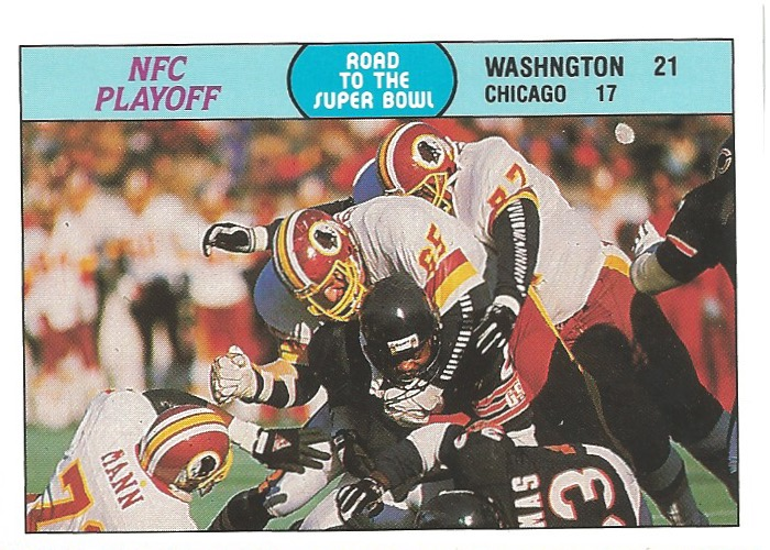 88 FL Redskins NFC Playoff