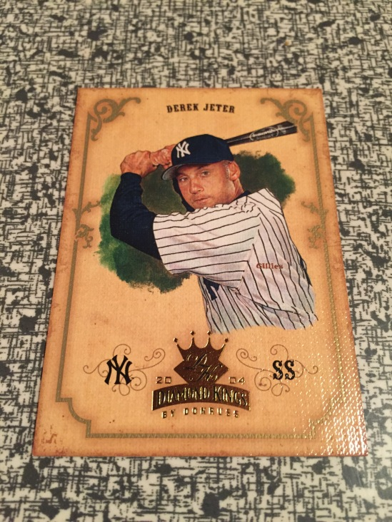 6a65944423 A Jeter Diamond King! Yay! This was by far the best card in the bunch,  pretty nice card. I think i may have a copy or two of this one, ...
